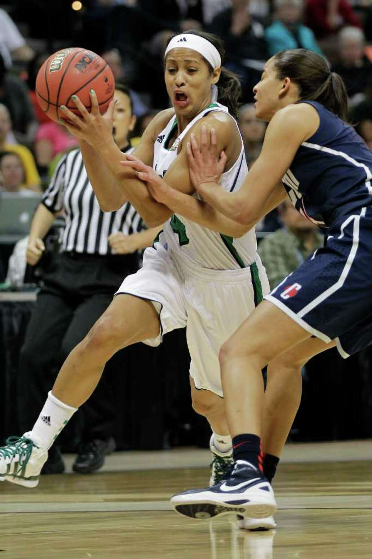 Notre Dame guard Skylar Diggins piloted the Irish to this stage last season, losing the final to Texas A&M.