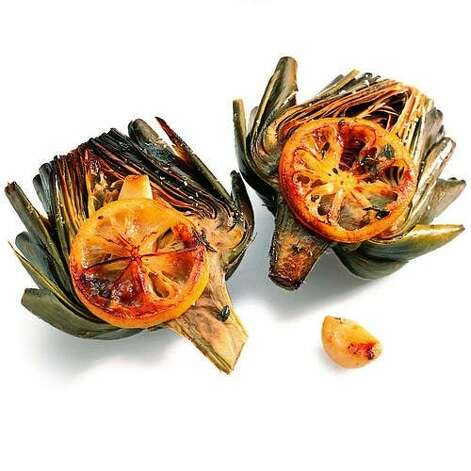 "<b>Roast artichokes:</b> Roasting these jewels of spring maximizes their nutty flavor. For a simple recipe, <a href=""http://www.sunset.com/travel/savor-spring-00418000074882/?viewdate=3_4_2012"">click here</a>. <br style=""clear:both;"" /><a href=""http://www.sunset.com"" target=""_blank"" class=""sunsetlogo""><img src=""http://imgs.sfgate.com/graphics/partners/sunset/sunset_logo.gif"" alt=""Sunset"" border=""0""/></a> Photo: James Carrier, Sunset.com"