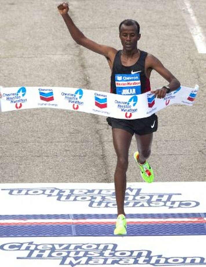 2012 Men's - Tariku Jufar - 2:06:51* - Ethiopia*Course & Texas Record