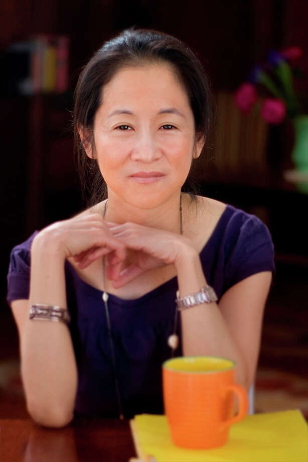 "Julie Otsuka will discuss her novel, ""The Buddha in the Attic,"" at the Ferguson Library's Friends Author Series program on Wednesday, April 11. She will be joined by Jane Green, author of ""Another Piece of My Heart,"" and Charlotte Rogan, author of ""The Lifeboat."" Photo: Contributed Photo"
