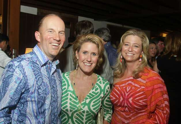Andrew McCullough, from left, Kirby McCool and Laura McCullough. Photo: Gary Fountain / Copyright 2012 Gary Fountain.