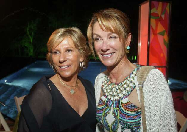 Florence Gautier, left, and Liz Loucks. Photo: Gary Fountain / Copyright 2012 Gary Fountain.