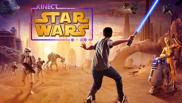 """Kinect Star Wars"" promotional image. Photo: Microsoft"