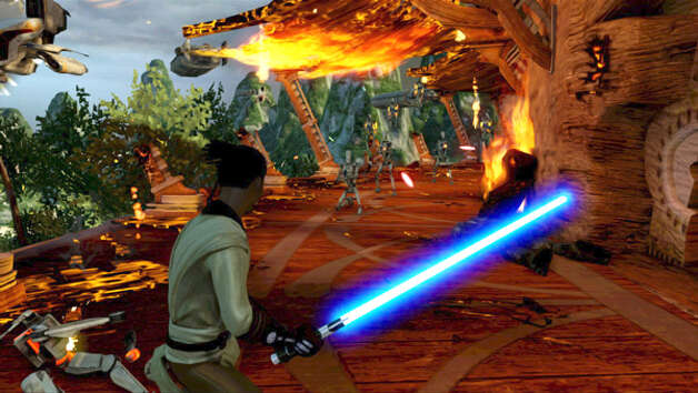 """Kinect Star Wars"" screen shot. Photo: Microsoft"