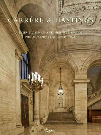 "The new book ""Carrere & Hastings: The Masterworks"" is co-authored by former Greenwich resident Heather Ewing. The book tells the story of two architects, one of whom, Thomas Hastings, married into the Greenwich family of Commodore E.C. Benedict Photo: Contributed Photo"