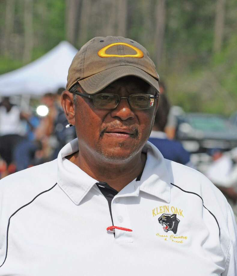 Klein Oak boys track coach Andress Andrepont and the Panthers are going for a fourth straight District 13-5A title in 2012. Photo: L. Scott Hainline / For The Chronicle