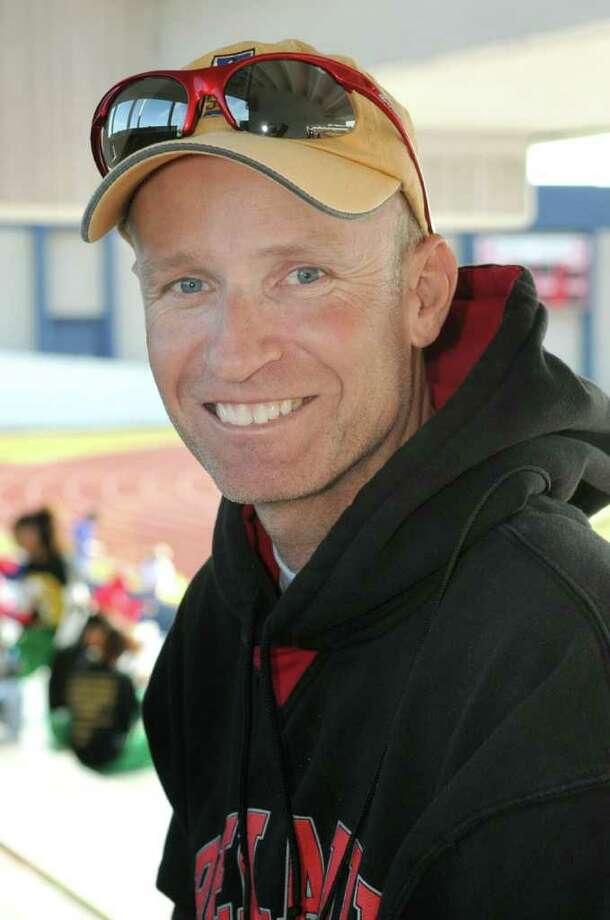 Houston Bellaire Head Boys Track Coach Brett Hervat Photo: Jerry Baker