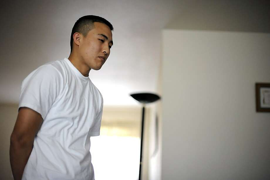 Daniel Sim, the younger brother of Oikos University shooting victim Lydia Sim, talks about his sister in their home in Hayward CA Monday March 3rd, 2012 Photo: Michael Short, Special To The Chronicle
