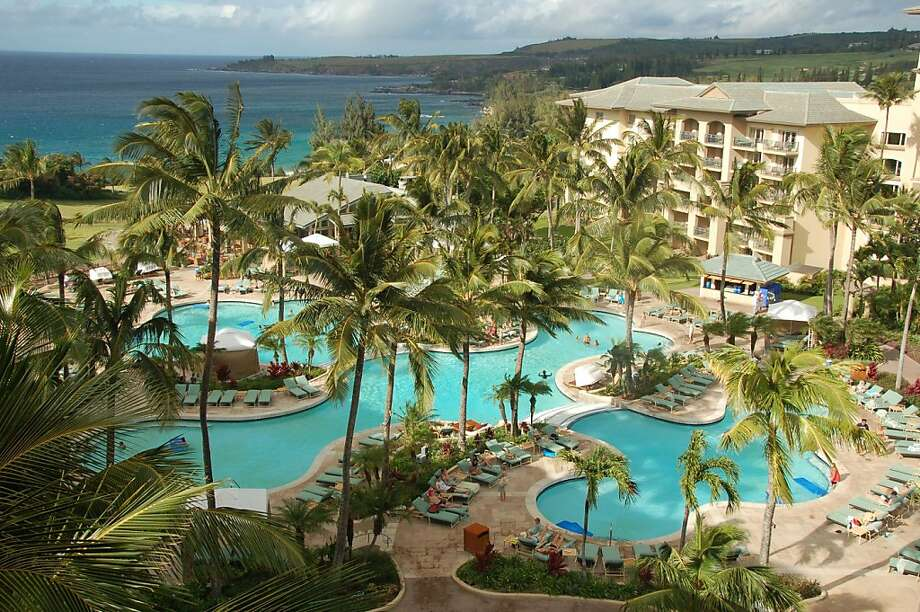 The Ritz-Carlton, Kapalua, on Maui is one of only three hotels in Hawaii on AAA's five-diamond list. Photo: Jeanne Cooper, Special To SFGate