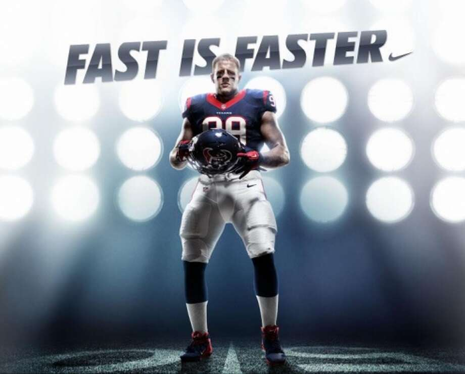 "Watt also signed a deal with Nike to make his own show, the ""Mega Watt.""Read more about J.J. Watt's endorsements here."