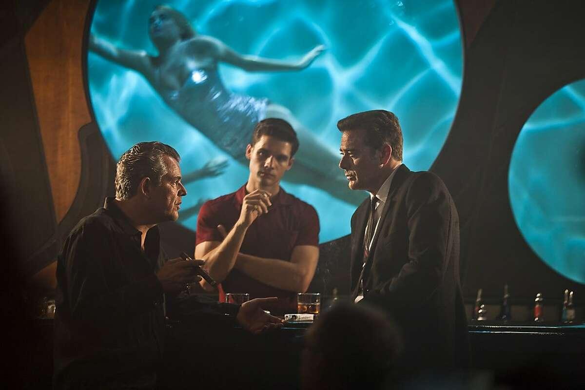 Magic City - Danny Huston as Ben Diamond, Steven Strait as Stevie Evans , Jeffrey Dean Morgan as Ike Evans