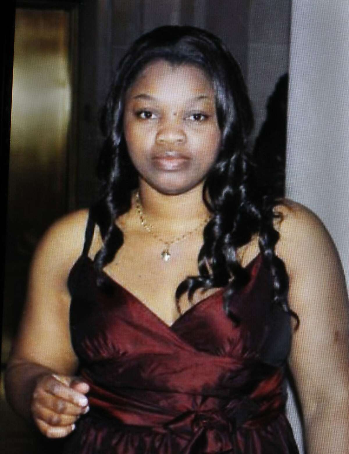 A copy photograph of Doris Chibuko, in San Leandro, Ca., on Tuesday April 3, 2012, who was one of the seven victims that shot and killed yesterday at Oikos University, in Oakland, Ca.She was a student at the school and was just two months away from graduating.