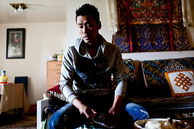 Tenzin Topchen, 26, was in an adjacent classroom at Oikos University when the shooting broke out. Here Topchen at his home in Los Cerritos, Calif., April 3, 2012. Photo: Jason Henry, Special To The Chronicle