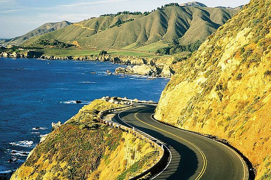 The twists and turns of Highway 1 from Big Sur to Carmel are a challenge for marathon runners, cyclists and drivers alike, although only the former has to keep to a timetable. Photo: David Gubernick, Monterey County CVB