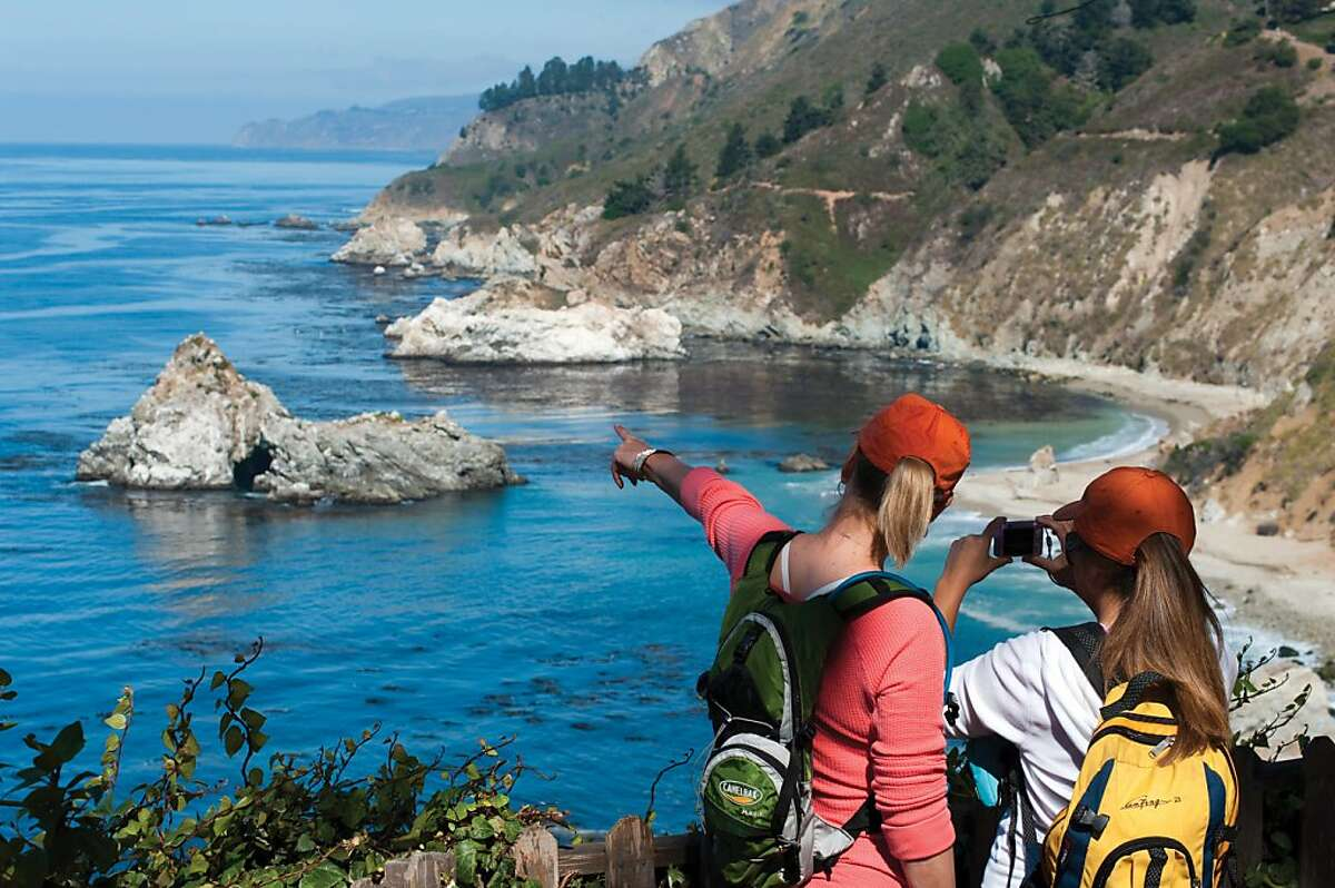 The hiking trails of Point Lobos State Natural Reserve make a worthwhile detour heading south from Carmel along Highway 1.