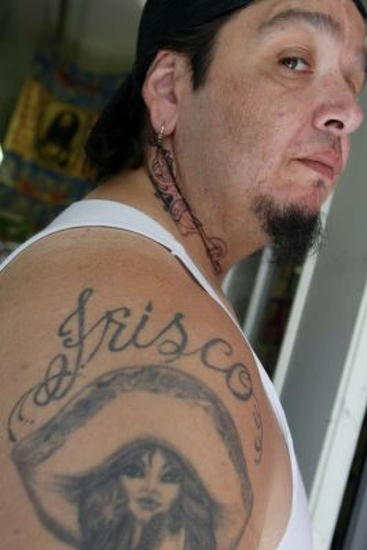 Never, ever, ever say Frisco, unless you're a rap fan or a biker. (Tattoo artist Rodil). (Mike Kepka / The Chronicle)