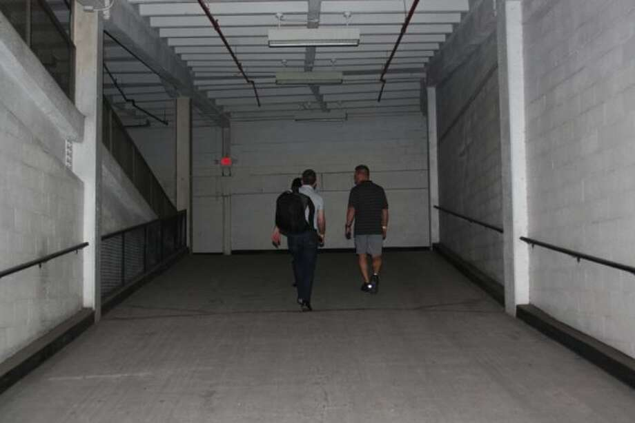 Remember when we had to walk these ramps to get to our seats? (J.R. Gonzales)