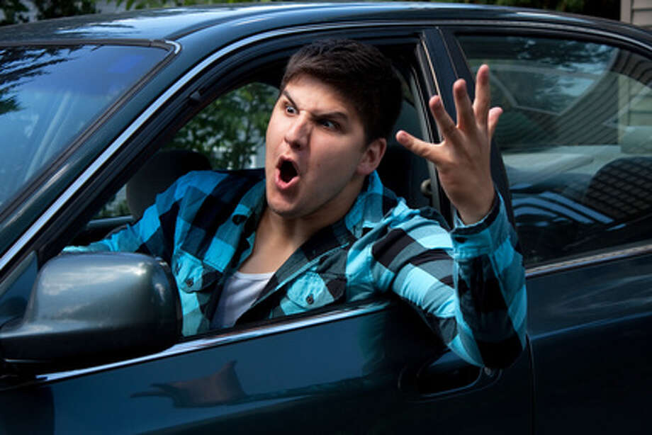 Flipping someone off while drivingWho does it more often: Women are more likely to do this than men. The survey found 31 percent of females surveyed admitted to doing this. The survey found 27 percent of men did it. Photo: TheSupe87 - Fotolia / TheSupe87 - Fotolia