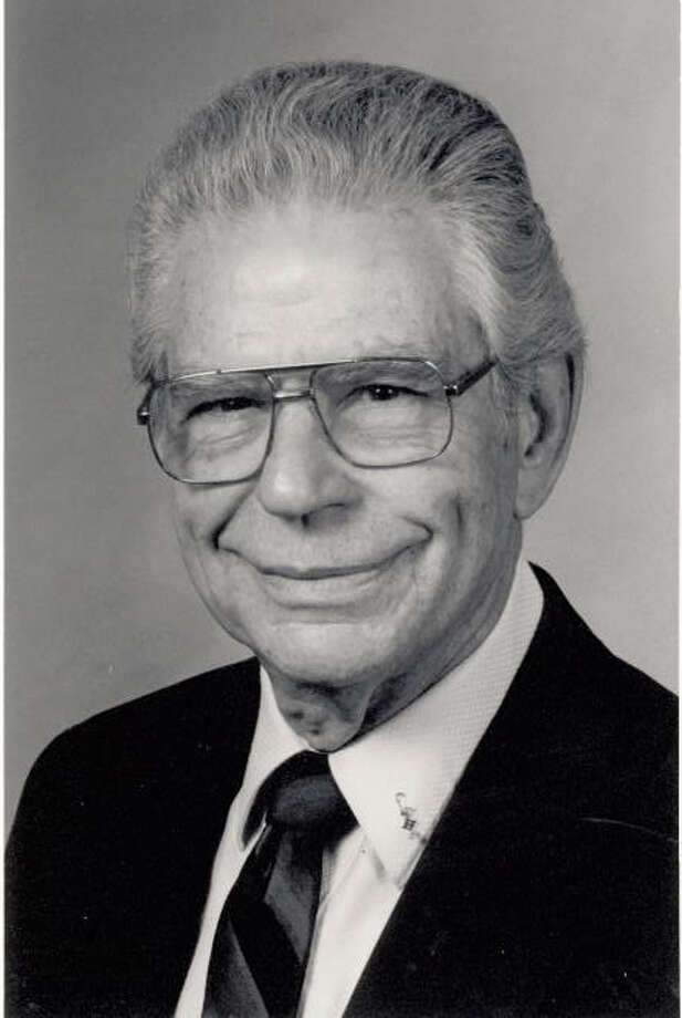 Cecil Holstead, former Jefferson County district clerk, will turn 95 this April. Photo: The Beaumont Enterprise Archives