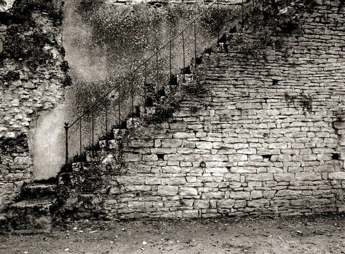 OHN DAVIS GALLERY ?STEPS? IS among the works in a solo exhibition of photography by Paul Hamann on display at the John Davis Gallery, Hudson, through April 22.