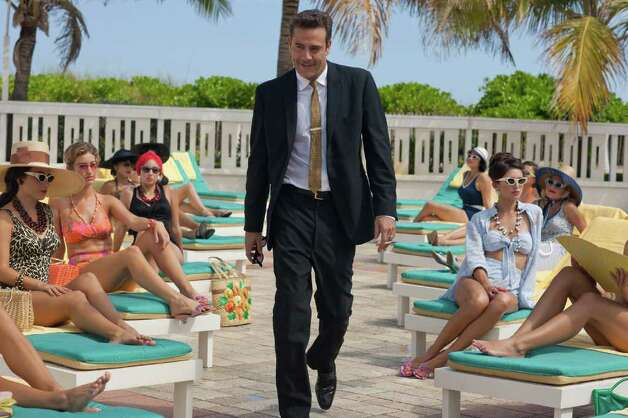"Jeffrey Dean Morgan portrays hotel magnate Ike Evans in ""Magic City."" The series captures the fast life of Miami Beach fueled by the Rat Pack, the mob, the CIA and anti-Castro forces coalescing after Fidel Castro's rise to power in Cuba. Photo: Starz / Starz"