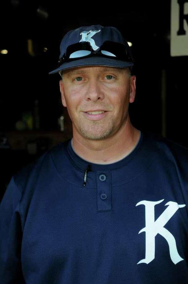 Kingwood Head Baseball Coach Kelly Mead Photo: Jerry Baker