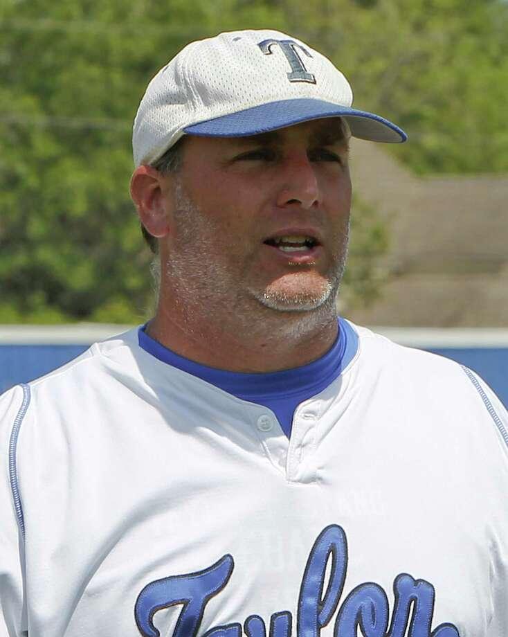 Katy Taylor varsity baseball coach Cory Bowyer Photo: Diana L. Porter / © Diana L. Porter