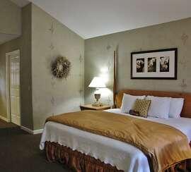 Interior room shot, FogCatcher Inn