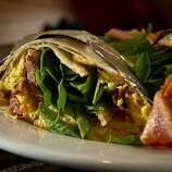 The Breakfast Burrito at the Beachside Coffee Bar in San Francisco.