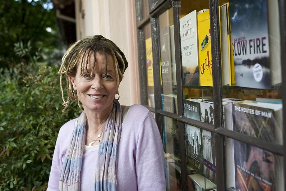 """Anne Lamott's newest novel """"Imperfect Birds"""" is about a Marin family trying to deal with their high school daughter who has a secret prescription drug problem.   Lamott read from the novel at The Depot Bookstore in Mill Valley, Calif., on Monday, April 12, 2010. Photo: Laura Morton, Special To The Chronicle"""