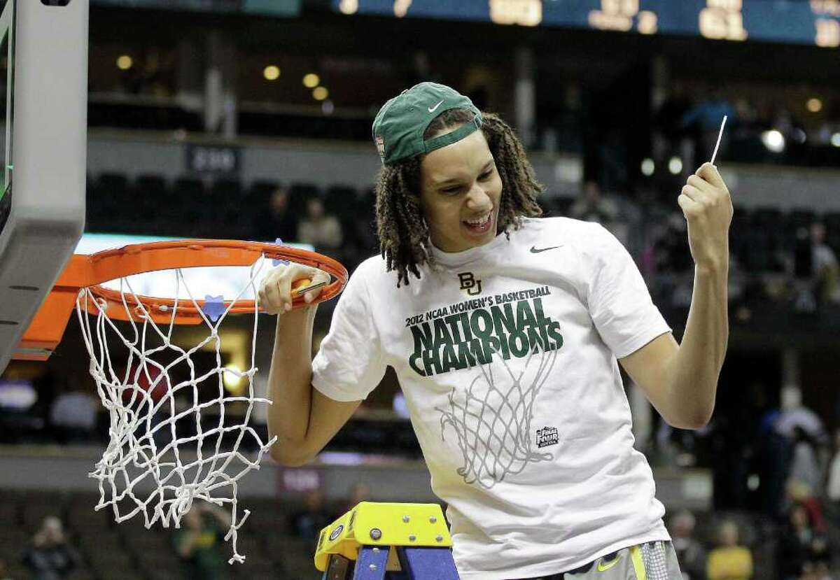 Despite speculation she's headed for the WNBA, center Brittney Griner says she'll be back at Baylor next season.