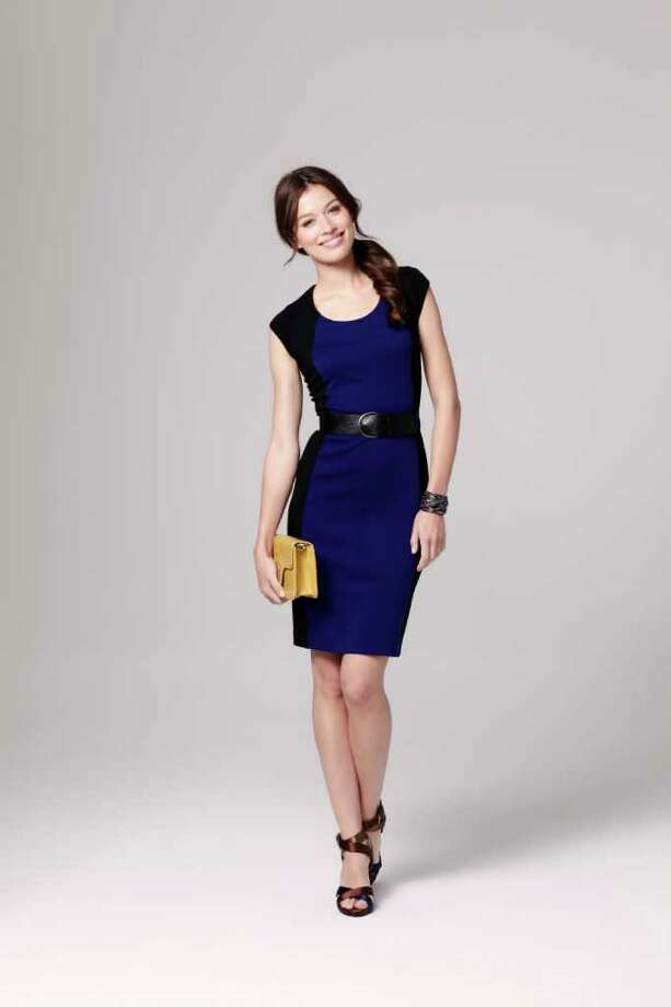 SOPHISTICATED: You won?t go wrong with this Nicole by Nicole Miller dress. It?s at JCPenney stores and jcp.com. Photo: JCPenney