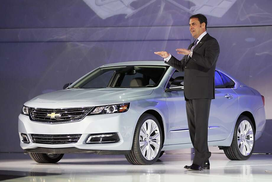 NEW YORK, NY - APRIL 04:  Mark Reuss, President of General Motors North America, introduces the newly unveiled 2014 Chevrolet Impala at the New York International Auto Show at the Jacob Javits Convention Center on April 4, 2012 in New York City. The New York International Auto Show features nearly 1,000 brand new vehicles from all auto industry sectors and is open to the public April 6-15.   (Photo by Mario Tama/Getty Images) Photo: Mario Tama, Getty Images