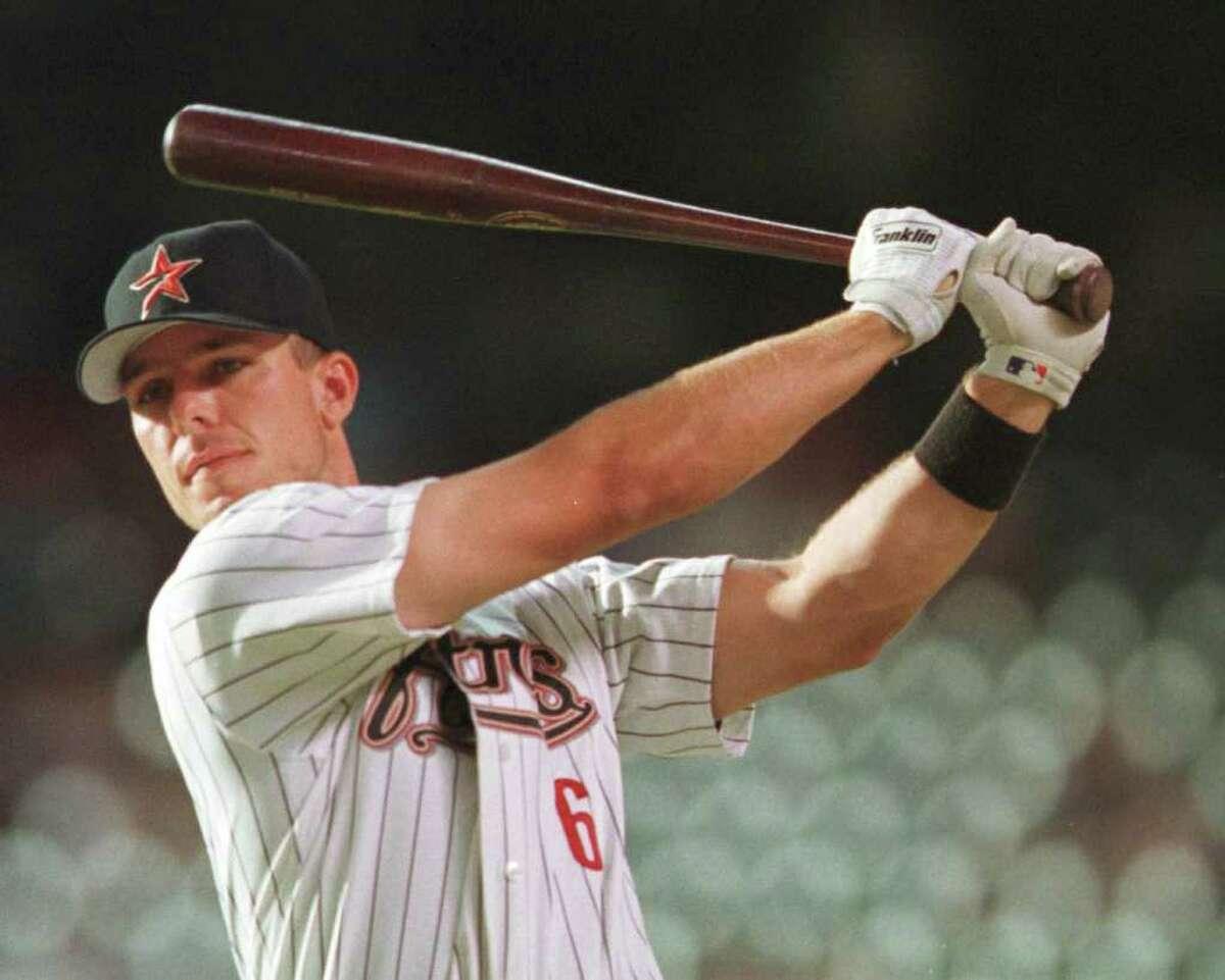 No. 100 Player:Chris Truby Date:Aug. 16, 2000 Opposing pitcher:Dan Serafini, Pirates