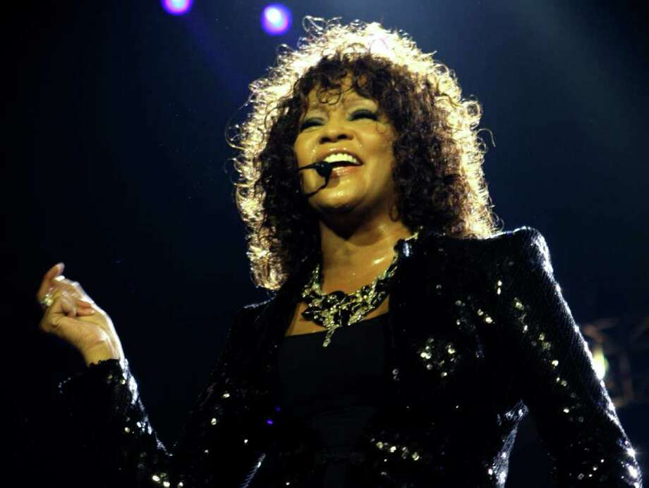 An autopsy report showed that cocaine was found in singer Whitney Houston's system  when she died in 2012. Investigators also reported recovering a white, powdery substances from the hotel room where her body was found. Photo: AP