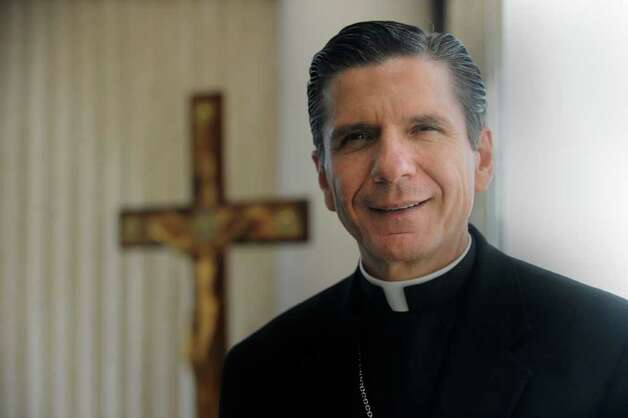 San Antonio Archbishop Gustavo Garcia-Siller is nearing his one-year anniversary as the head of the archdiocese, a job he took after eight years as an auxiliary bishop in Chicago. He is known for his affection, energy and spiritual passions. Nov. 2, 2011. BILLY CALZADA / gcalzada@express-news.net Photo: BILLY CALZADA, SAN ANTONIO EXPRESS-NEWS / gcalzada@express-news.net
