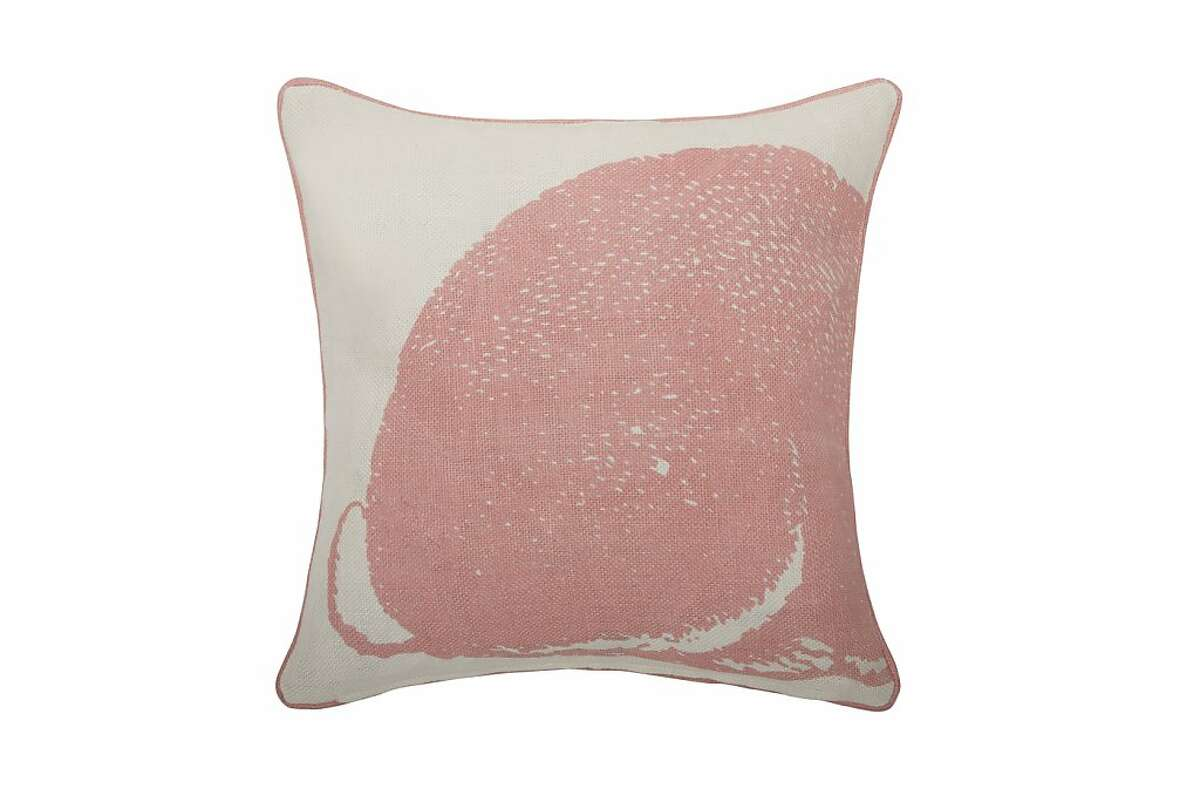 More or Less: $88 Rose Bunny Linen Pillow by Thomas Paul from 2Modern (2Modern.com)