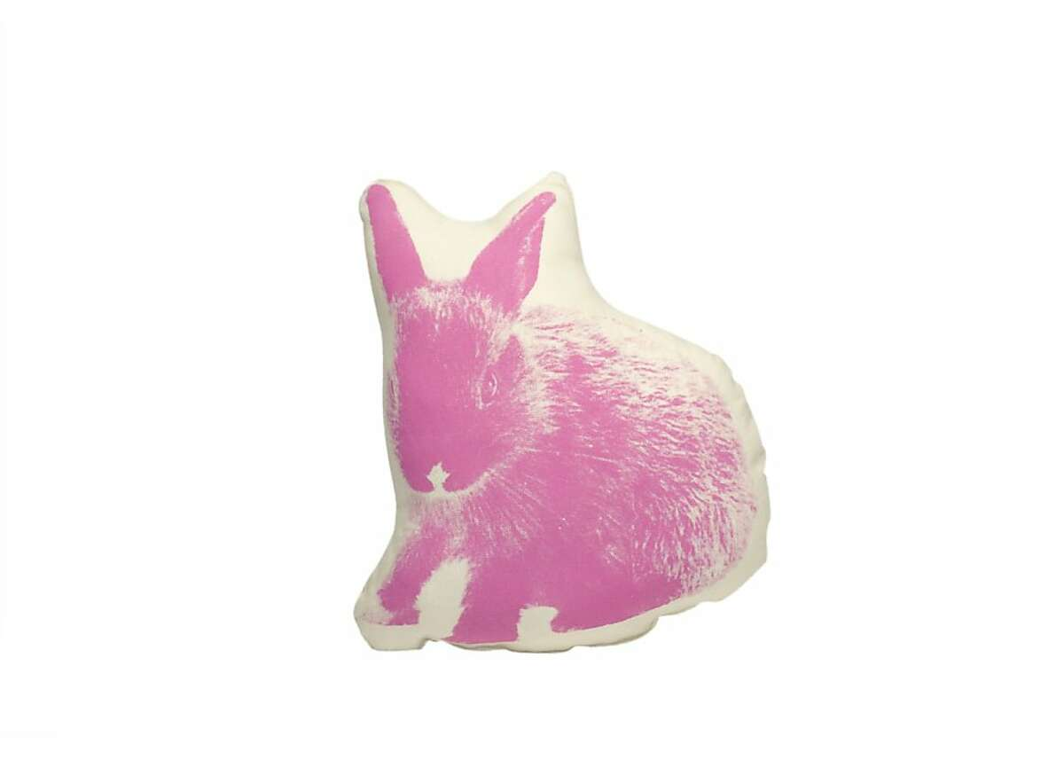 More or Less: $28 Bunny Pico pillow by Ross Menuez from Areaware (areaware.com)