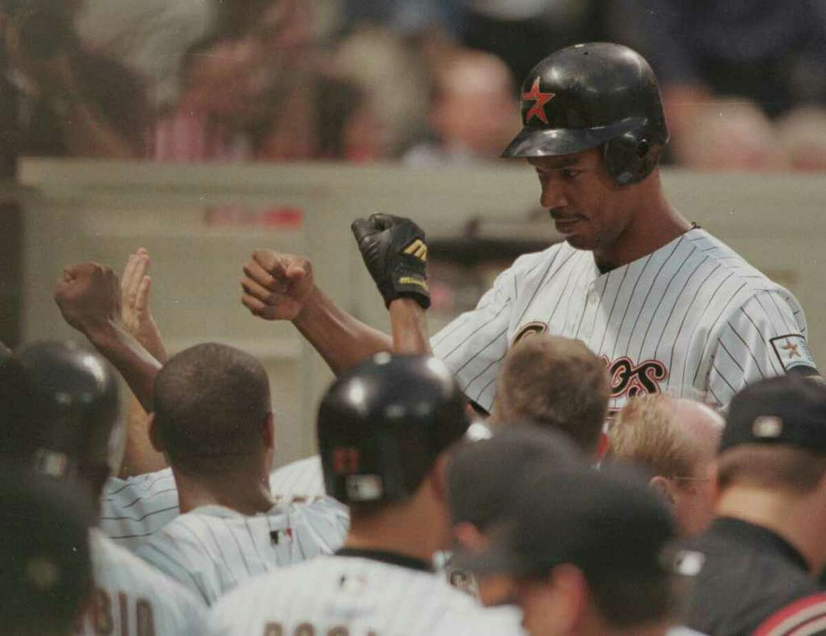 T10. Moises Alou 37 homers (played for Astros from 1998-2001, at MMP since 2000)