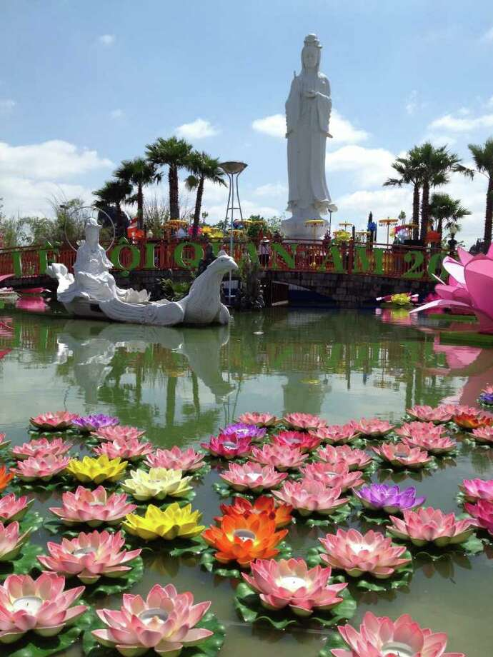 The Quan  Am statue can be found at the Vietnamese Buddhist Center. Vietnamese Buddhist Center10002 Synott Road  Sugar Land, TX 77498 Photo: Ken Chitwood