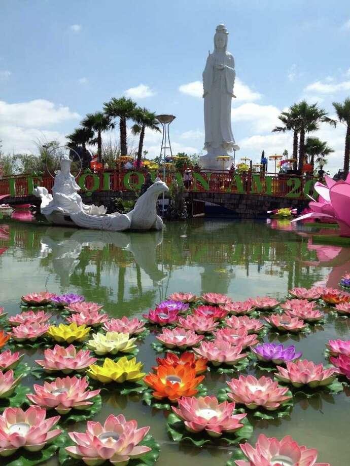 The Quan  Am statue can be found at the Vietnamese Buddhist Center. Vietnamese Buddhist Center10002 Synott RoadSugar Land, TX 77498 Photo: Ken Chitwood