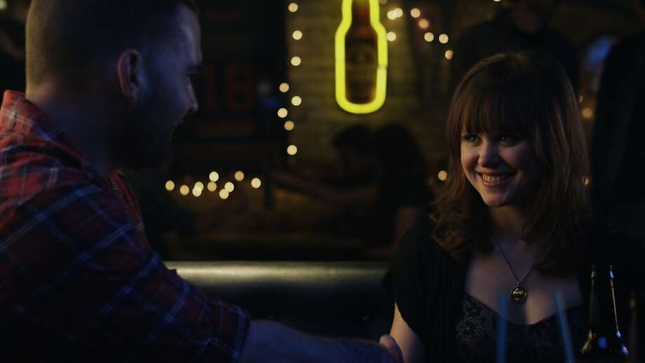 Seann William Scott and Alison Pill in GOON, a Magnet Release. Photo: Magnet Releasing