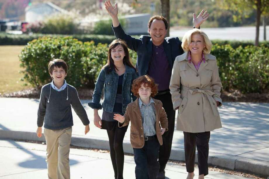 "Billy Crystal co-stars with Bette Midler as grandparents in ""Parental Guidance,"" due in November. Photo: KERRY HAYES / 20TH CENTURY FOX"