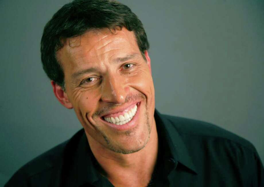 Tony Robbins poses for a portrait Monday, July 26, 2010 in New York. Photo: AP