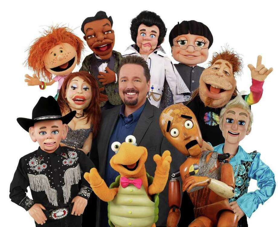 "10 heads are better than one: Comedian/ventriloquist Terry Fator, winner of season two of ""America's Got Talent,"" performs at the MGM Grand Theatre at Foxwoods on Friday, April 20. Photo: Contributed Photo / Connecticut Post Contributed"