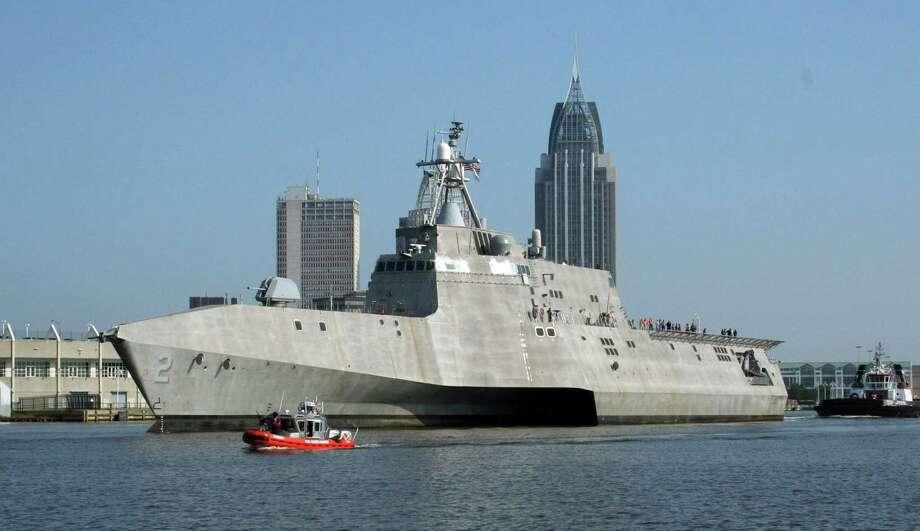 New combat ship took choppy path - San Antonio Express-News