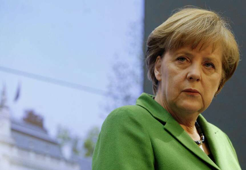 1. German Chancellor Angela Merkel is one of eight heads of state on the