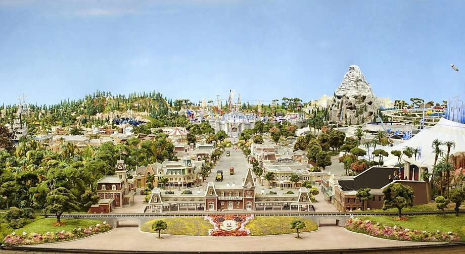 Model of Disney's imagination.   Walt Disney Family Museum Photo: Disney Family Museum