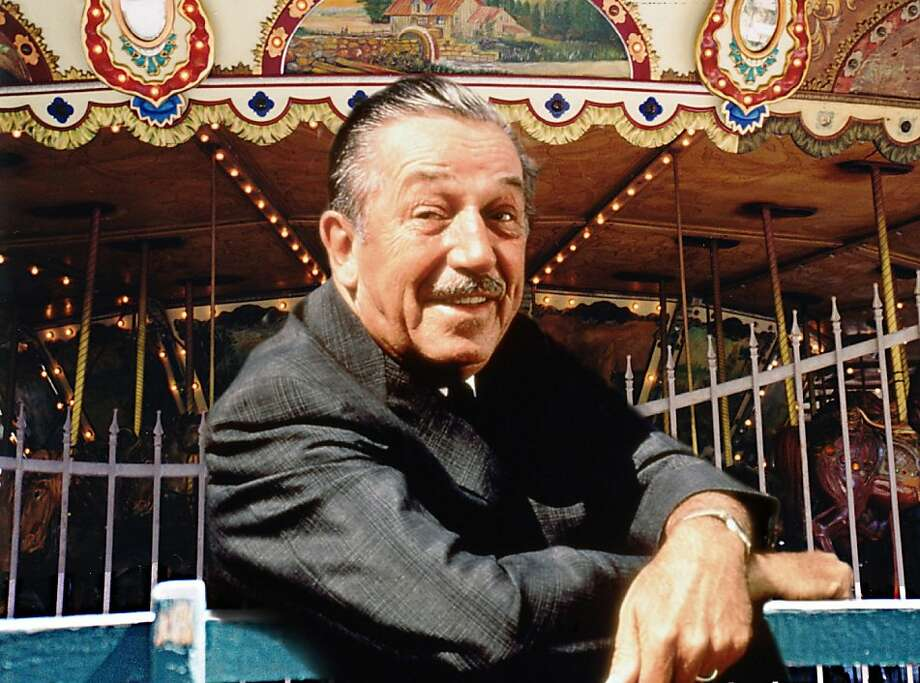 Walt Disney at Griffith Park.   Walt Disney Family Museum Photo: Disney Family Museum