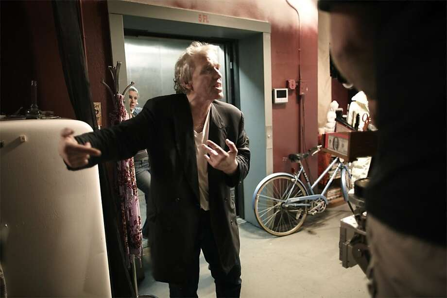 Abel Ferrara on set of 4:44 LAST DAY ON EARTH.  Photo by Tony Notarberardino. Photo: Tony Notarberardino